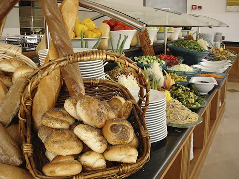 גרנד קורט ירושלים - חדר אוכל