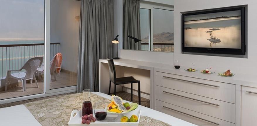 מלון דיוויד ים המלח | חדר עם מרפסת