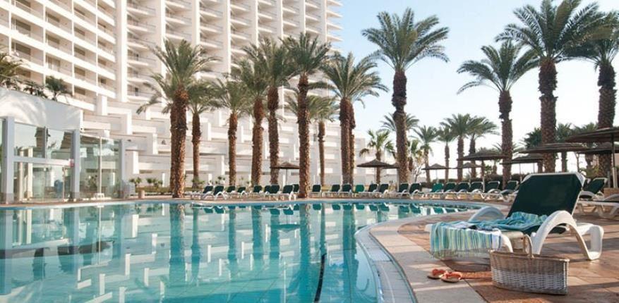 מלון דיוויד ים המלח | הבריכה הפתוחה